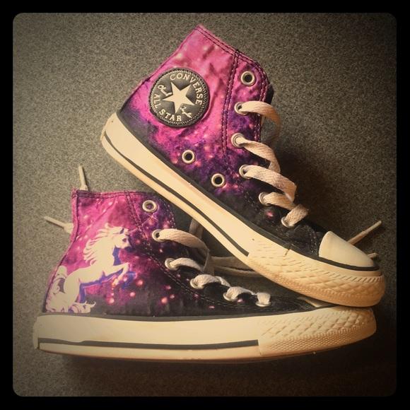 86e361aa7dc4 Converse Other - Unicorn galaxy converse chuck Taylor